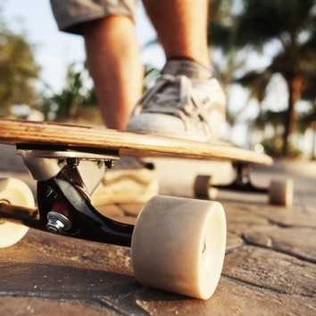 Скейт на улице